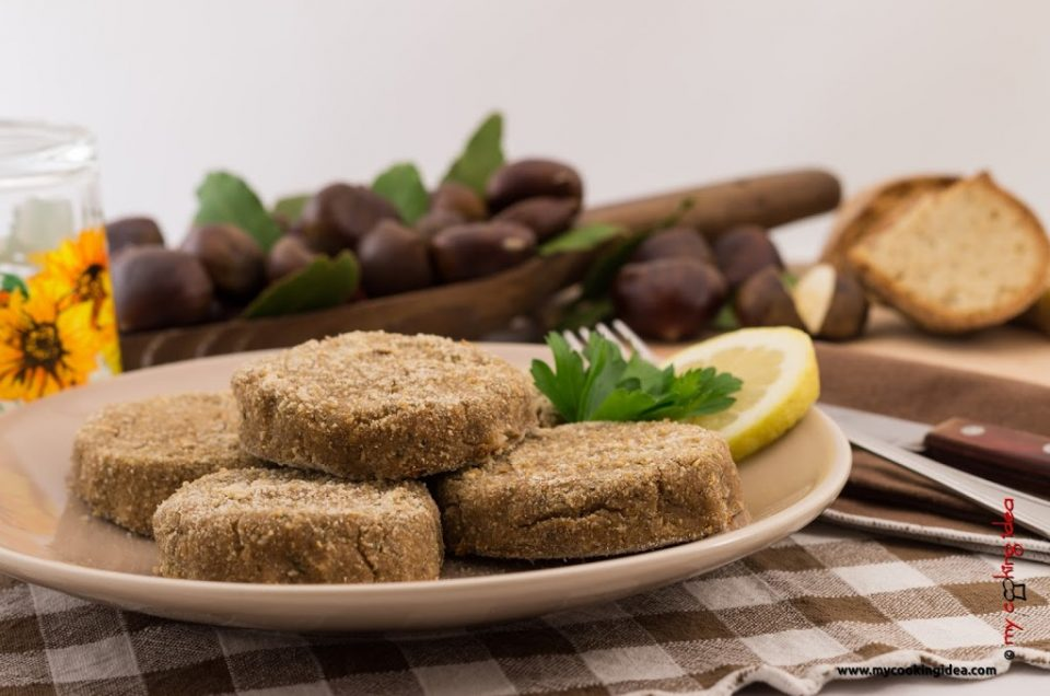 Crocchette di castagne, ricetta