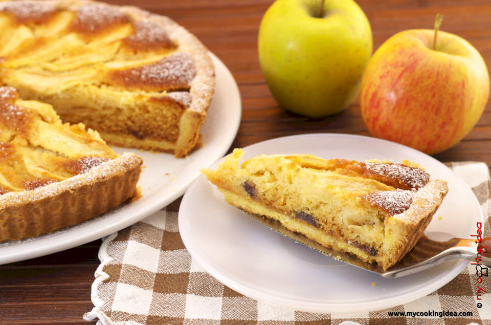Crostata di mele, ricetta dolci