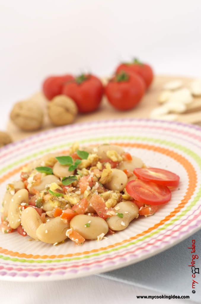 Fagioli corona, ricetta insalata