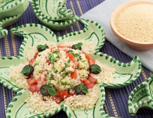 Insalata di cous cous e zucchine
