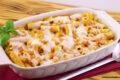 Pasticcio di maccheroni con ragù di tofu