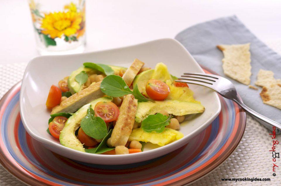 Insalata esotica, ricetta vegana