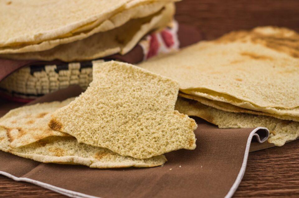 Pane carasau, pane tipico sardo