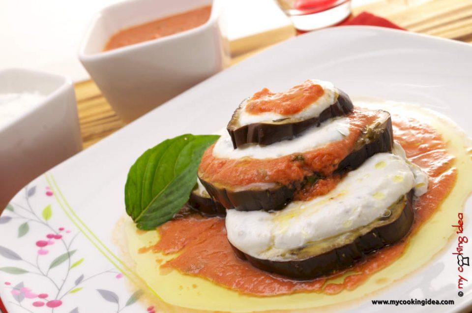 Melanzane alla parmigiana rivisitate, ricetta