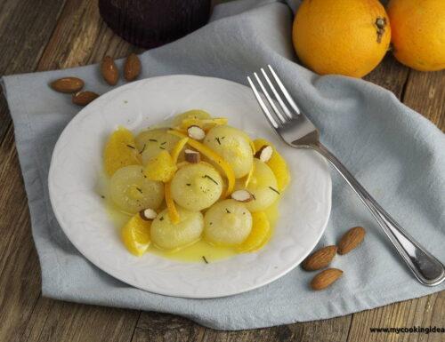 Cipolline in agrodolce all'arancia
