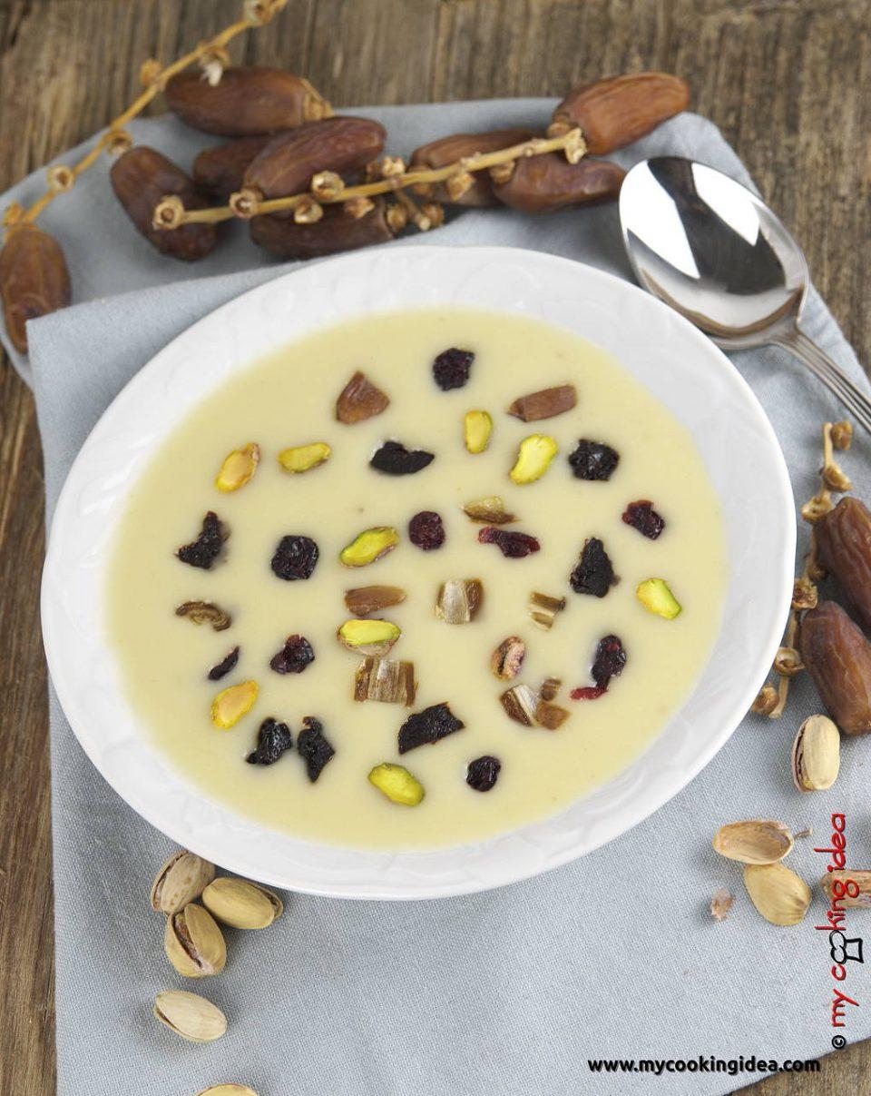 Crema di patate con frutta secca, ricetta primi piatti