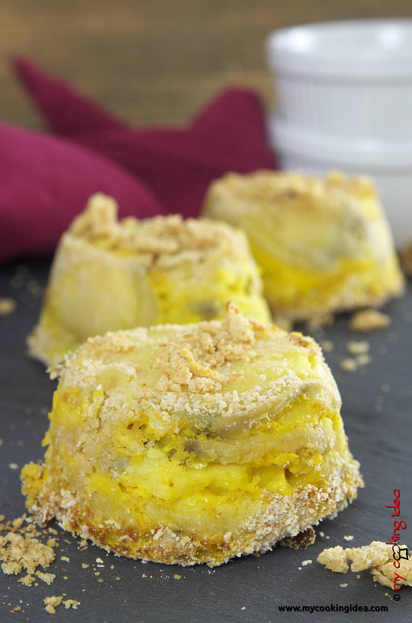 Sformatini di patate dolci, ricetta antipasto