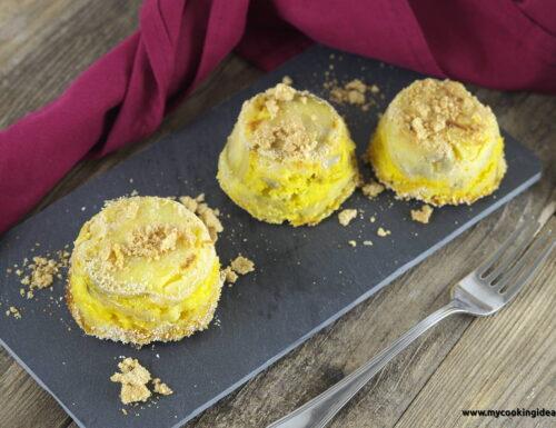 Sformatini di patate dolci e zafferano