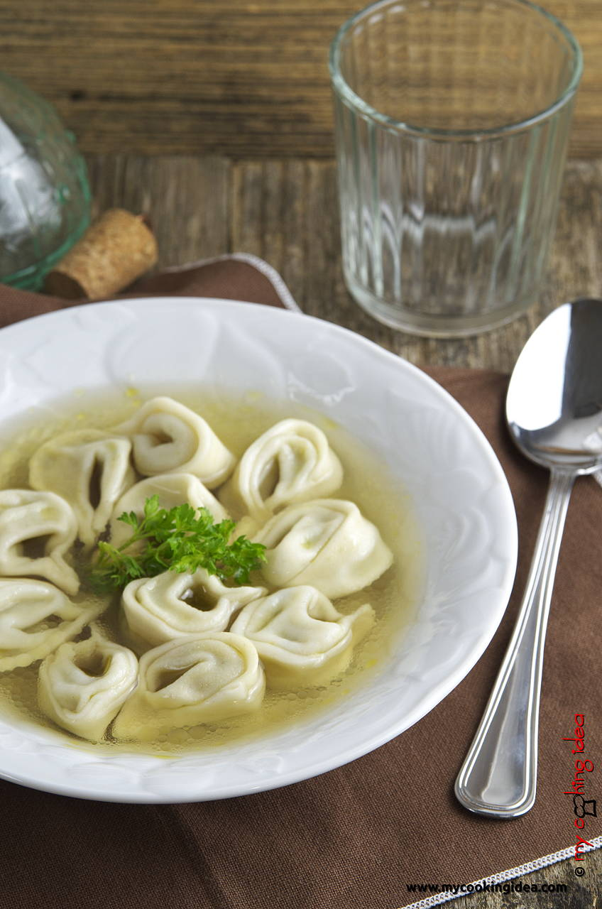 Tortellini in brodo vegetariani, ricette tradizionali