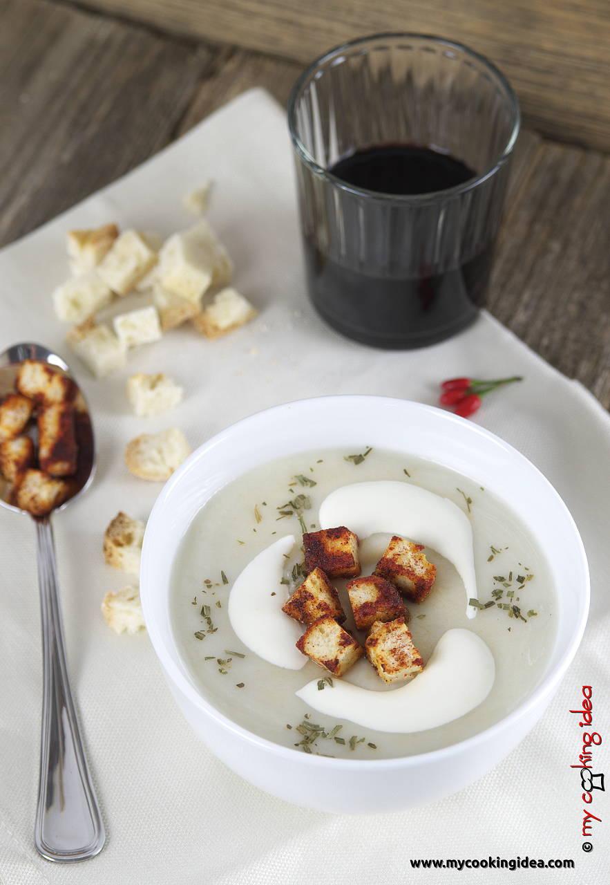 Vellutata di topinambur, ricetta primi piatti