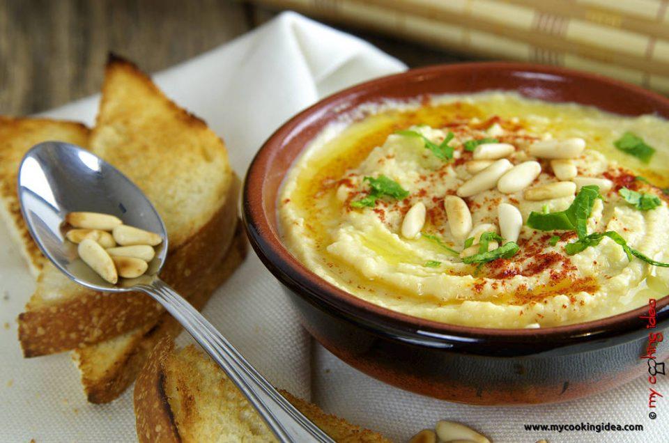 Hummus di ceci, ricetta veloce