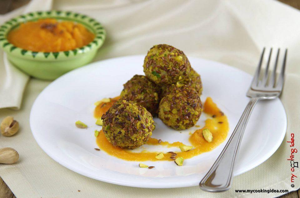 Polpette speziate, ricetta secondo piatto vegetariano