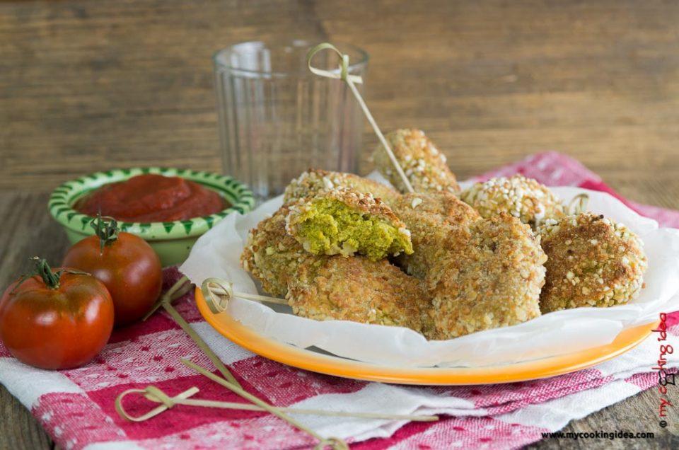 Nuggets di broccoli, ricetta facile vegana