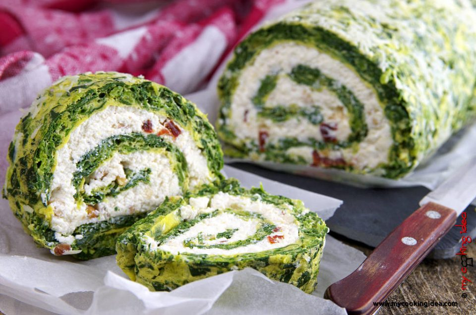 Rotolo di spinaci, ricetta antipasto