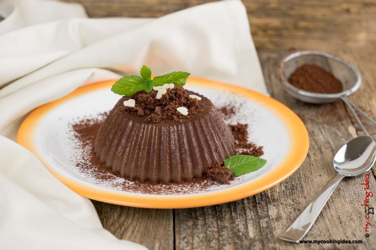 Budino al cacao fatto in casa senza uova | Ricetta veloce