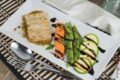 Tofu marinato con verdure