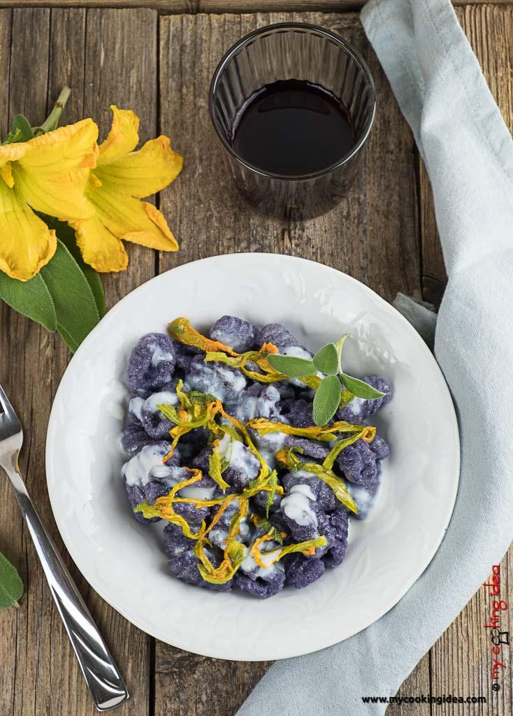Gnocchi di patate viola | Ricetta primi piatti
