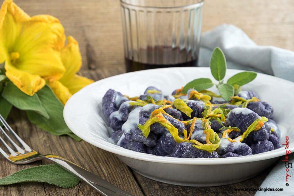 Gnocchi di patate viola | Ricette primi