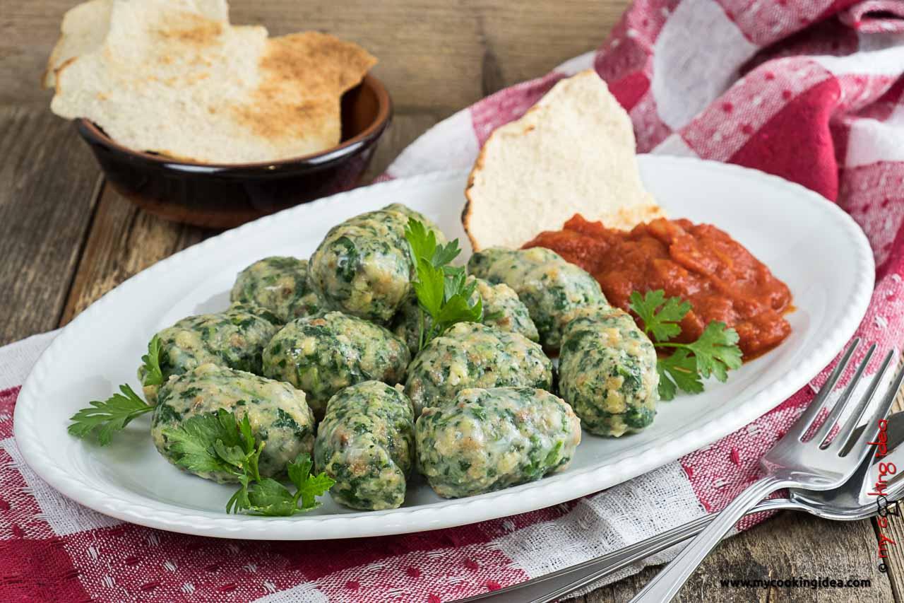 Polpette di pane e spinaci   Ricette vegetariane