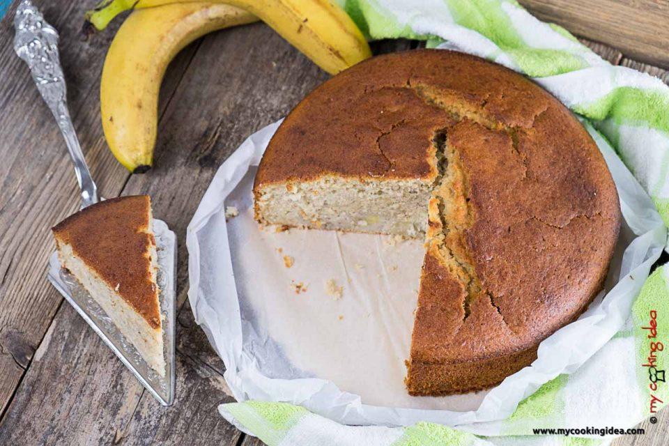 Torta alle banane senza burro | Colazione