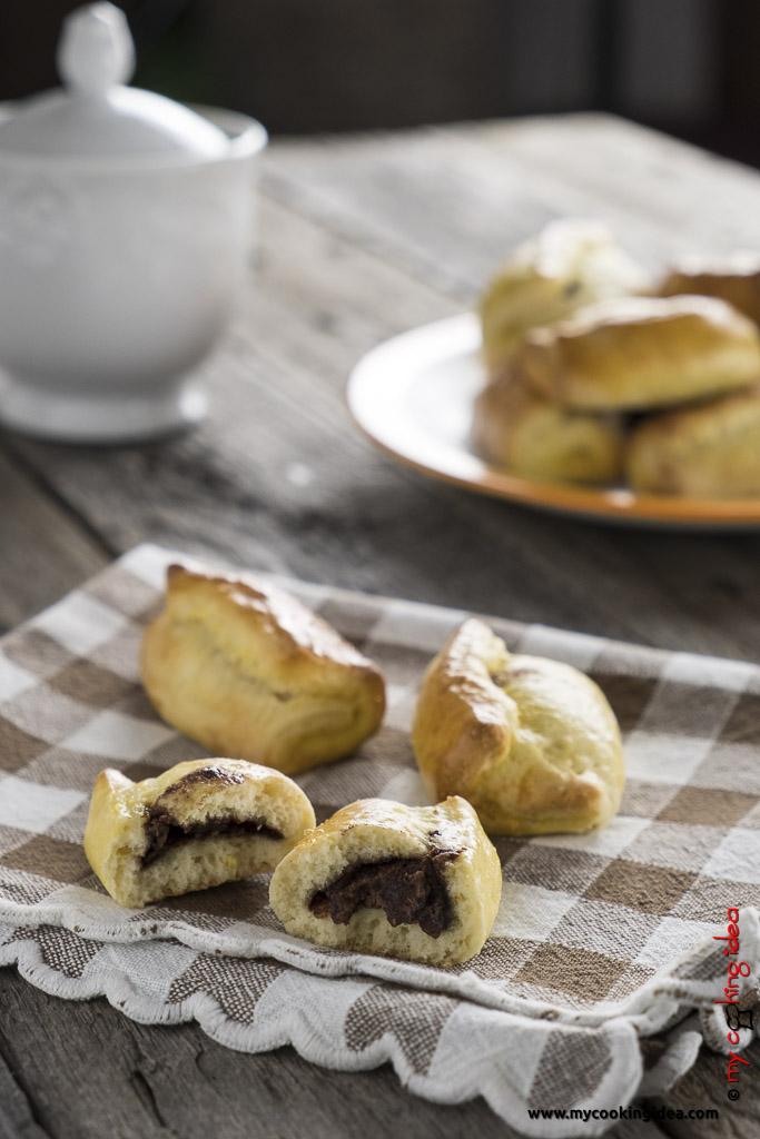 Biscotti arrotolati con nutella   Ricetta biscotti