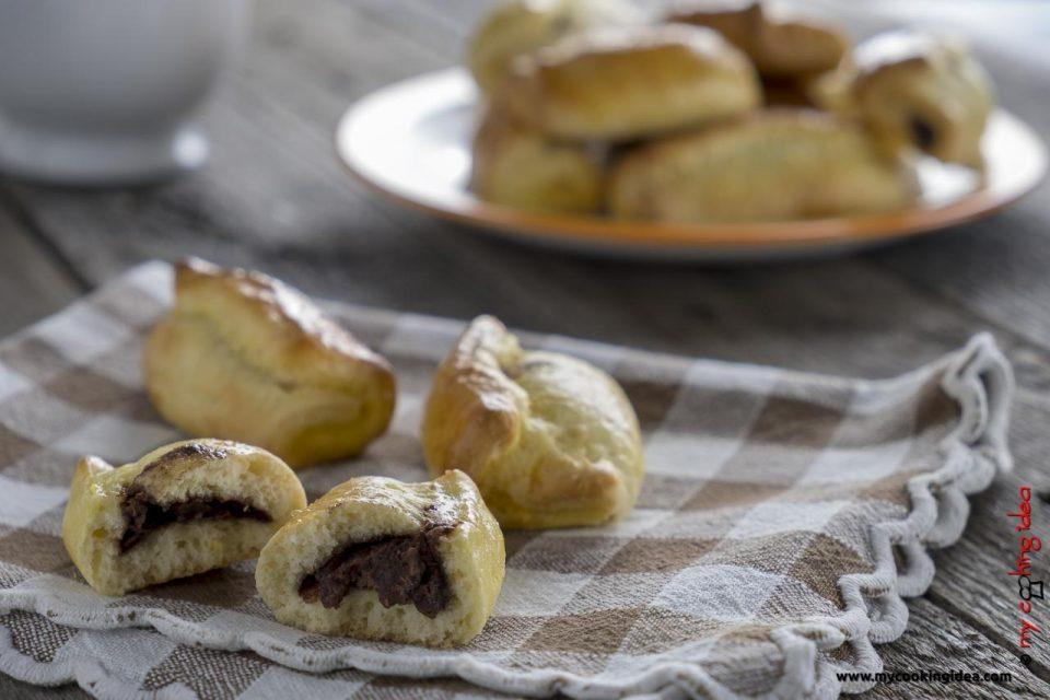 Biscotti arrotolati farciti | Ricetta biscotti