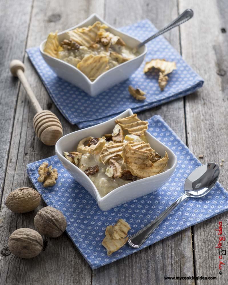 Porrige d'avena con mango | Ricette sane e veloci