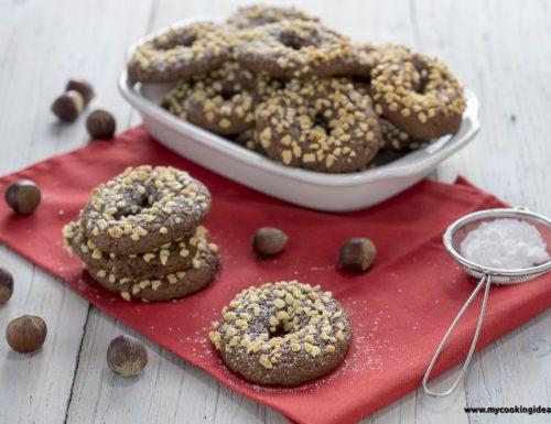 Biscotti all'olio e cacao