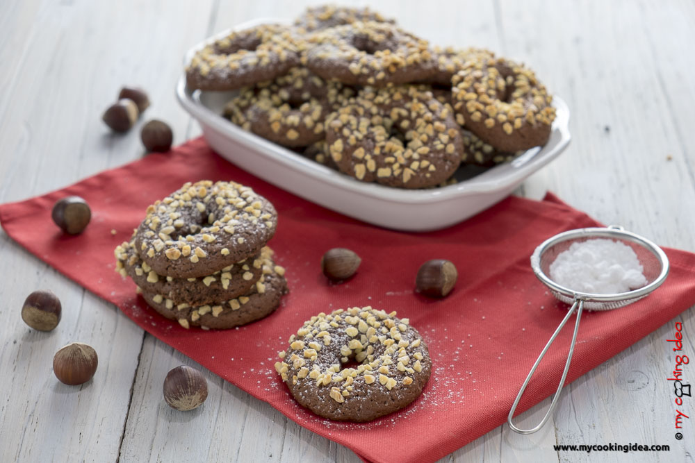 Biscotti all'olio e cacao | Ricette biscotti facili