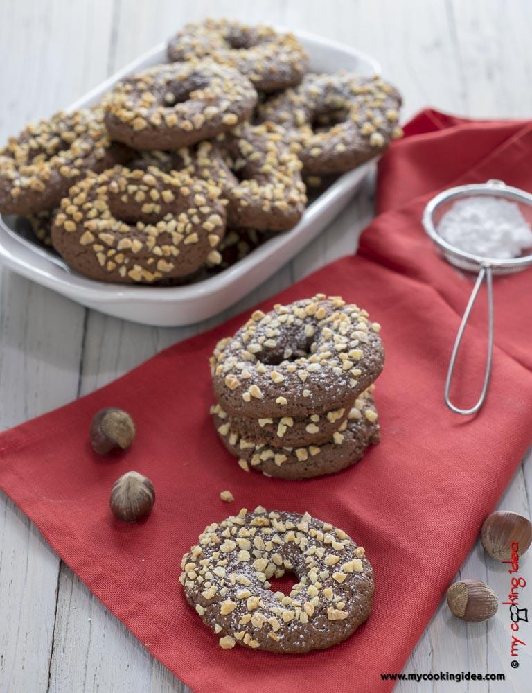Biscotti all'olio e cacao senza lattosio | Ricette biscotti