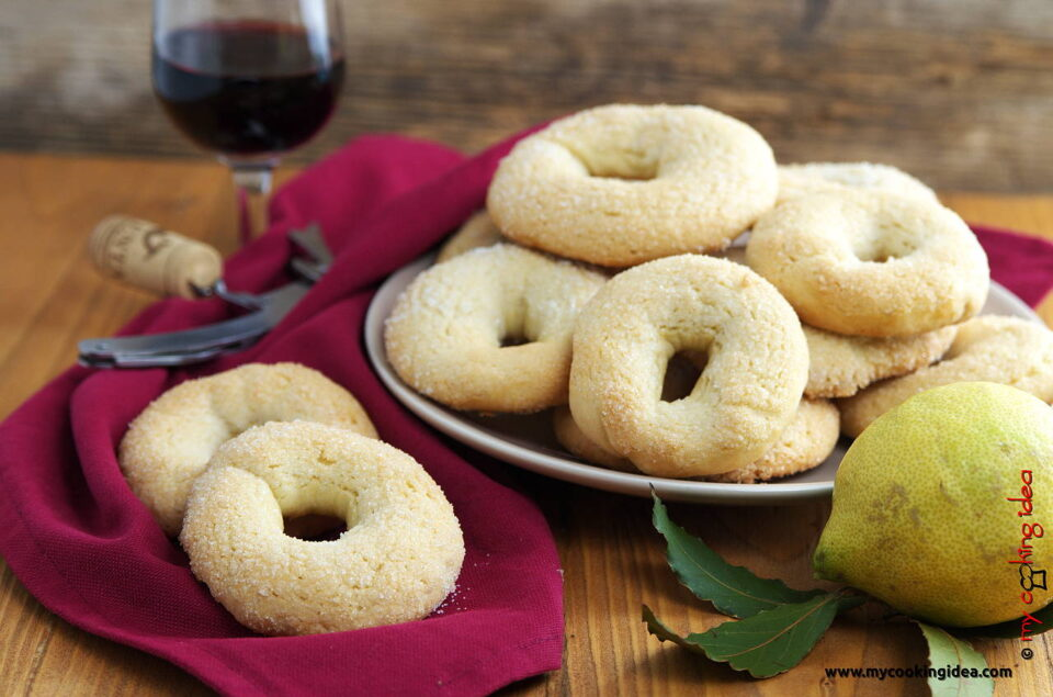Ciambelline al vino, ricetta biscotti secchi