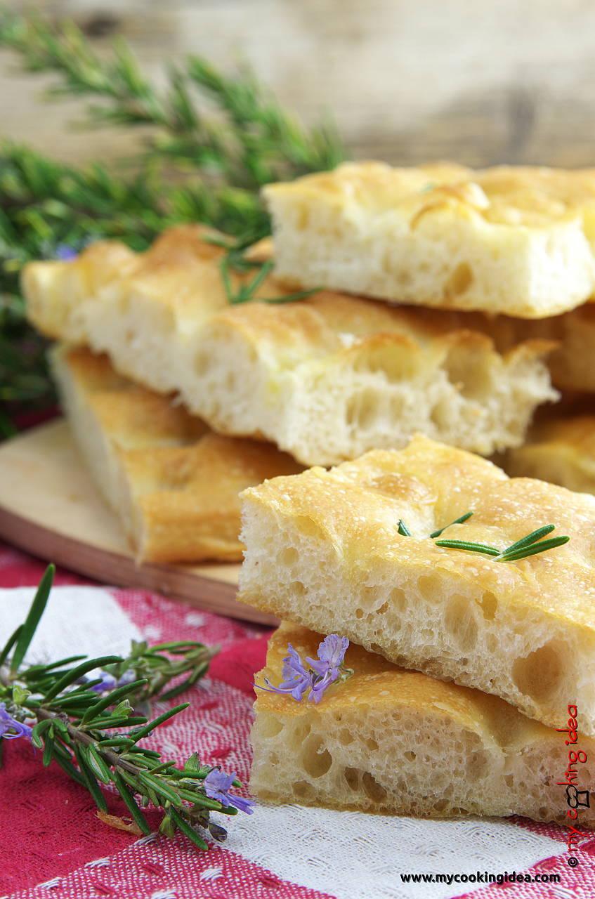 Focaccia genovese, ricetta tradizionale