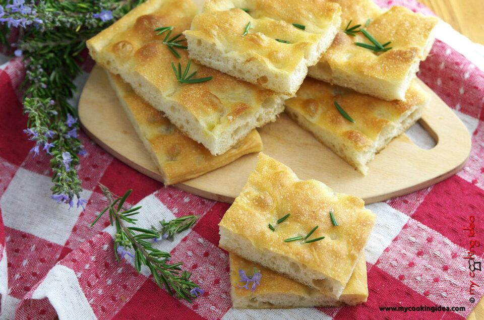 Focaccia alla genovese, ricetta tradizionale