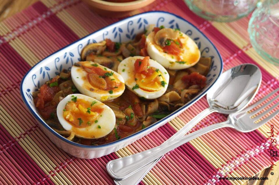 Uova in salsa, ricetta facile